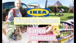 XXL VLOG | Shopping im Biomarkt & IKEA | Hauls | Gartenarbeit | Isabeau