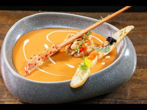Tiết lộ kỹ thuật làm súp Tôm Hùm Alaska đặc sản PHÁP từ đầu bếp 5 sao| HNAAu