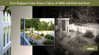 Cedar Fence: Reinvent the designs (866) 448-0345