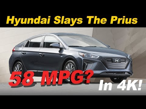 2017 Hyundai Ioniq Hybrid Review and Road Test In 4K UHD!