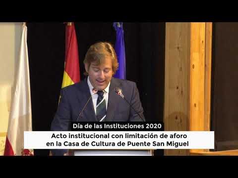 Dia de las instituciones de Cantabria 2020