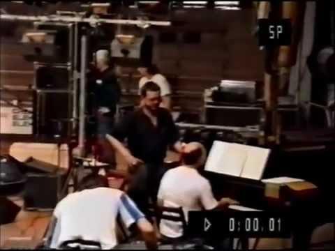 """Jacek Kaczmarski - próba przed koncertem """"Live"""", Kraków 1990"""