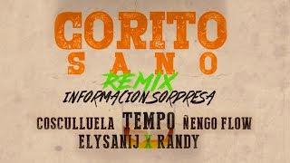 TEMPO x COSCULLUELA x ÑENGO FLOW CORITO SANO OFFICIAL REMIX Tempo Se Los Clav0 En VERSO
