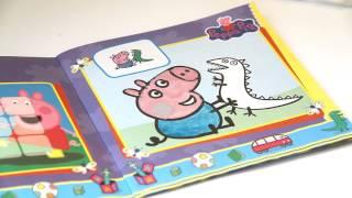Раскраска Свинка Пеппа, Раскрашиваем Джорджа - Раскраска для детей и малышей про свинку пеппу