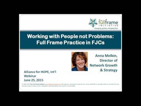 Working with People not Problems  Supporting Wellbeing in Family Justice Centers