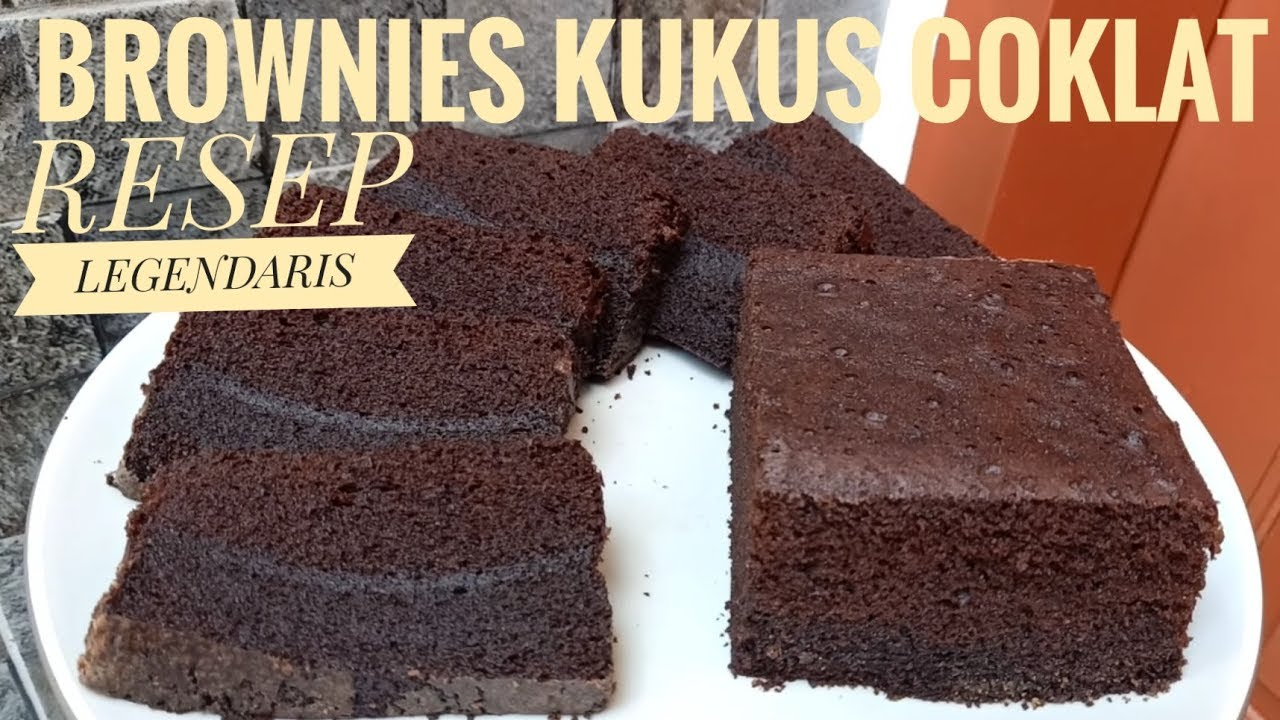 Resep brownies kukus coklat empuk lembut