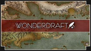 Wonderdraft - (Fantasy Woŗld Building)