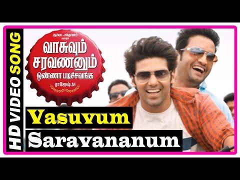 VSOP Tamil Movie | Songs | Vasuvum Saravananum Song | Renuka wants Arya to get married | Santhanam