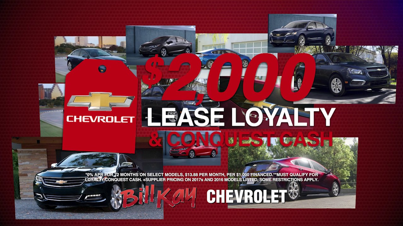 Bill Kay Chevy >> Red Tag Sales Event Bill Kay Chevy Youtube