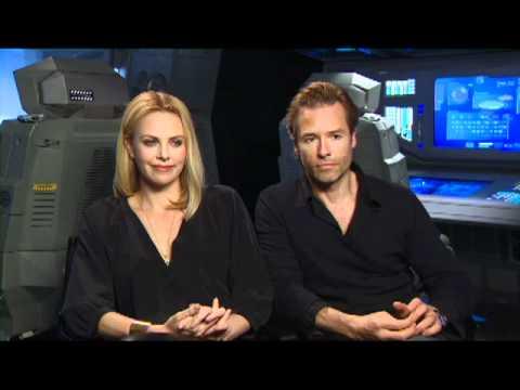 Prometheus Press Junket Charlize Theron & Guy Pearce interview