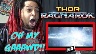 Thor: Ragnarok Teaser Trailer | REACTION & REVIEW OOOOH MY GAAAWDDD!!!