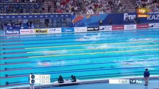 Вольный стиль 800 метров финал Сунь Ян Китай Kazan 2015 ЧМ 2015 Плавани