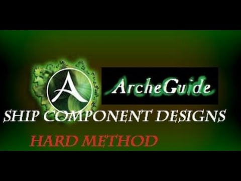 ArcheGuide: Where To Find Ship Component Designs In ArcheAge - Hard Method.