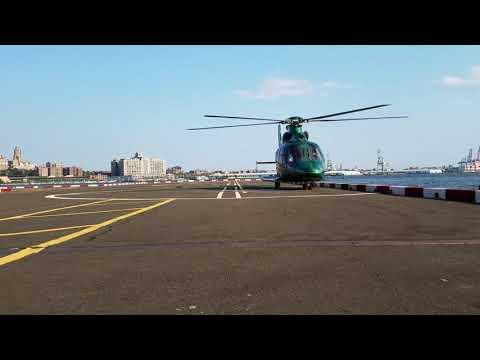 EC155 Landing Manhattan NYC