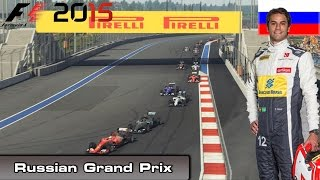 F1 2015 - Championship Mode - Round 15: Russian Grand Prix