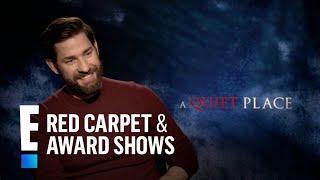 John Krasinski Spills on Wife Emily Blunt's Professionalism   E! Live from the Red Carpet