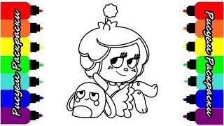 Ханазуки Мультик Раскраска для Детей Hanazuki Cartoon Coloring Book for Kids