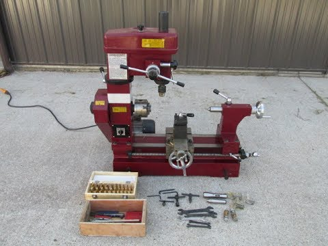 Central Machinery Multi-Purpose Lathe Mill Milling Machine Combo 3 in 1 FOR SALE