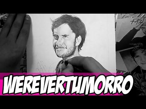 Dibujo de Werevertumorro  By Steven Builes  YouTube