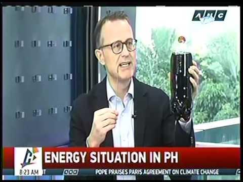 Nuclear for Philippine Energy Future | Urs Bolt | ANC HEADSTART | 7 Nov 2016