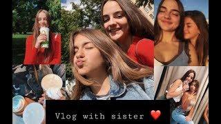 VLOG ♡ Гуляем вместе с Лизой Найс ❤ Выходные дни с любимой сестрой 💓