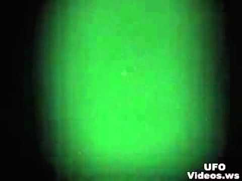 Phoenix Lights UFO Recorded With Night Vision Over Fremont, California