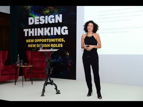 New Opportunities, New Design Roles,  HBR Design Thinking Conference - Opening Speech