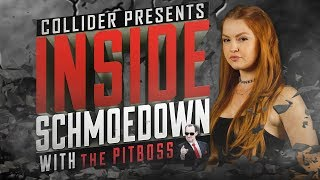 Grace Hancock Talks Lion's Den on Inside Schmoedown with the Pitboss - Collider Video