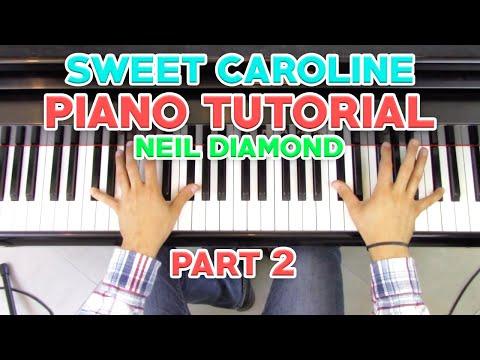 """sweet-caroline""---piano-tutorial-(2/2)-+-sheet-music---neil-diamond- -george-vidal"