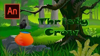 || Erstellen von Animierten Film Thristy Crow || In Animate CC 2017