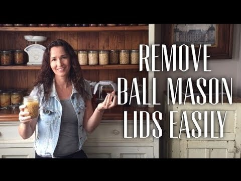 Get the lid off canned Ball Mason jars