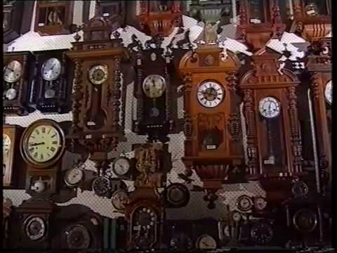 Antique Clock Shop In Singapore ( German Documentary )