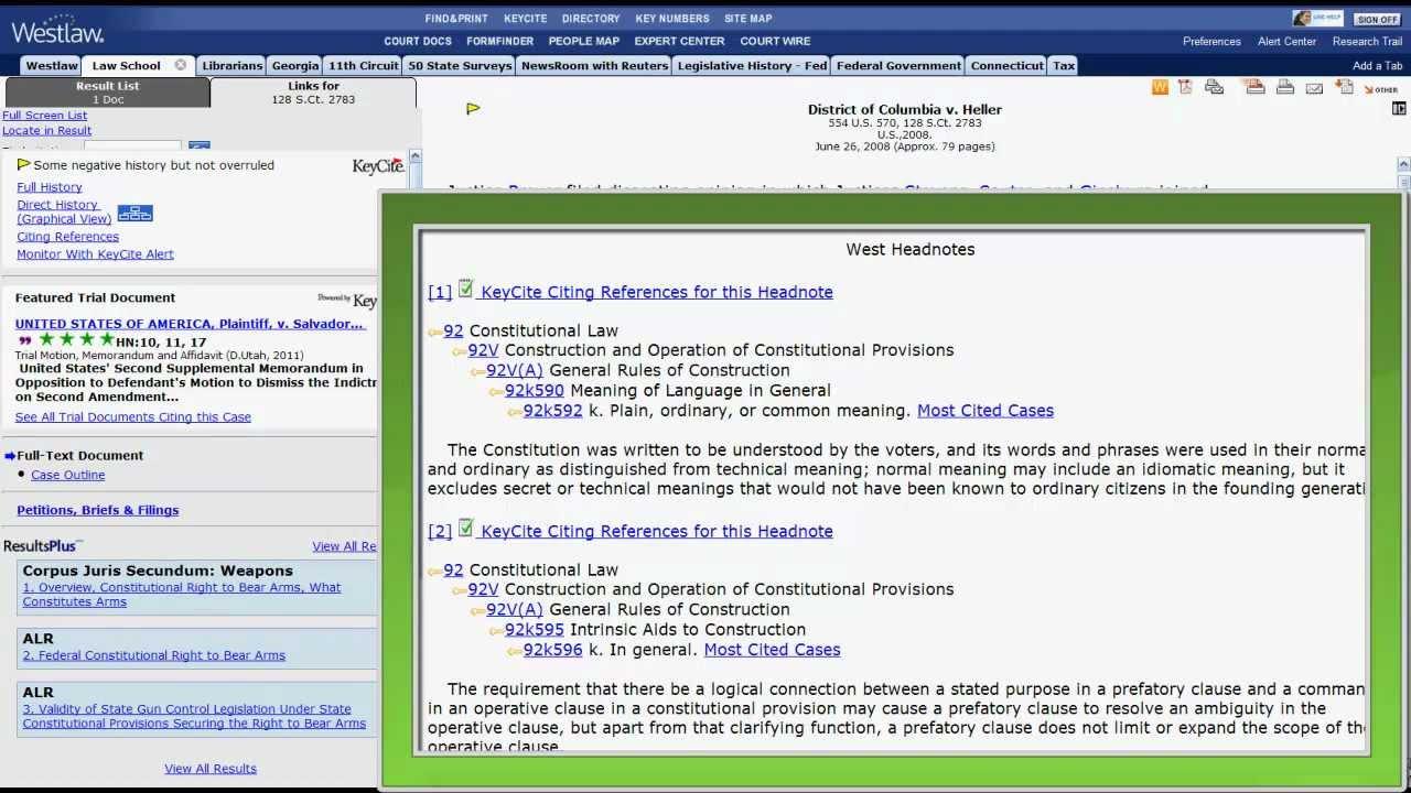 Cases - Navigating Online Legal Research Platforms - LibGuides at