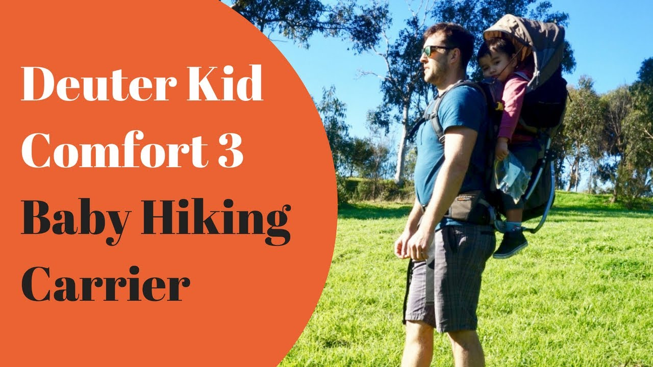 405abcdf523 Deuter Kid Comfort 3 Baby Hiking Carrier - Product Review and Demonstration