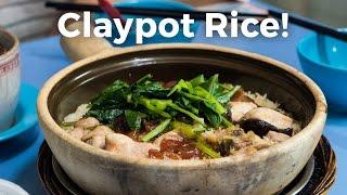 Claypot Rice - The Biggest Hawker Centre in Singapore