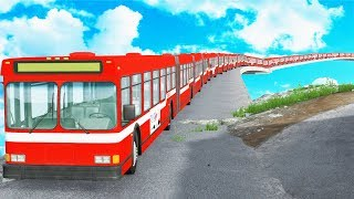 Articulated Bus Crashes #1 -  BeamNG DRIVE | CrashTherapy