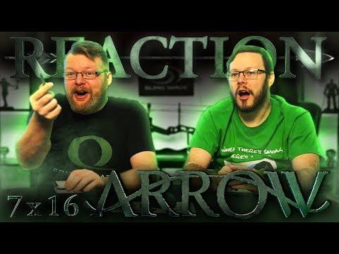 """Arrow 7x16 REACTION!! """"Star City 2040"""""""