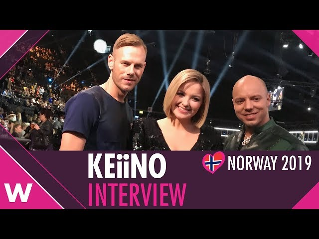 "KEiiNO ""Spirit in the Sky"" (Norway Eurovision 2019) - INTERVIEW @ Melodi Grand Prix 2019"