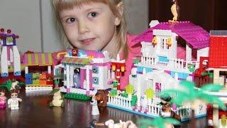 Видео для детей.  Тайная жизнь домашних животных в городе Lego