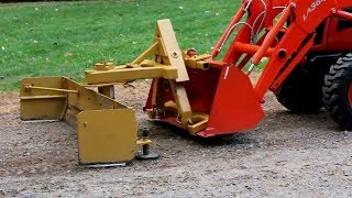 NIXFACE Clamp On Trailer Receiver Hitch 2 Deere Bobcat Tractor Bucket
