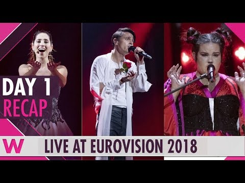 Eurovision 2018: First rehearsals winners & losers Day 1 (Review)   wiwibloggs