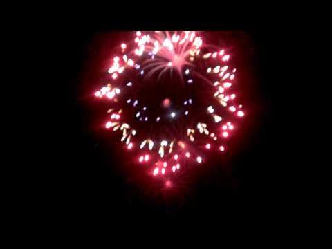 Lake Shawnee Full fireworks show in HD