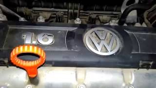 Volkswagen Polo 2012, запуск двигателя зимой, работа двигателя