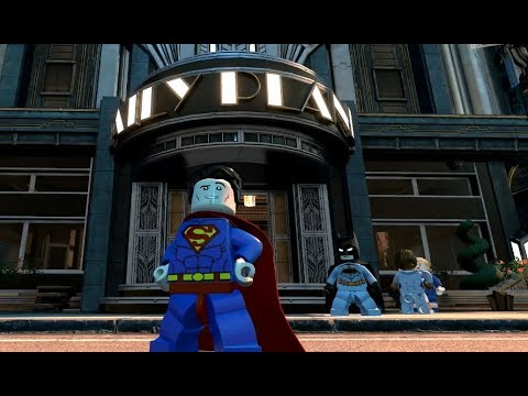 Lego DC Super-Villains - Visita al Daily Planet