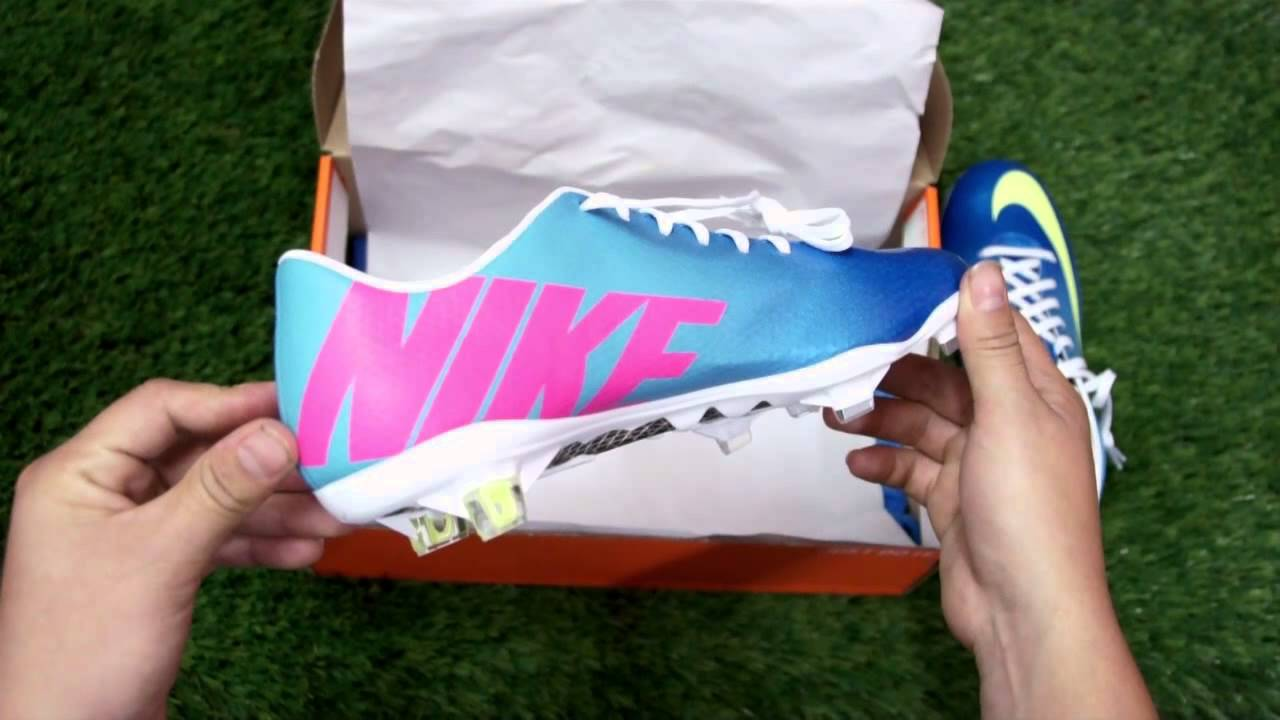 Unboxing - Nike Mercurial Vapor IX FG Neptune Blue ...