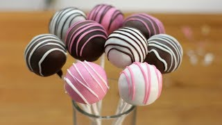 How To Make Cake Pops | Easy Homemade Cake Pop Recipe