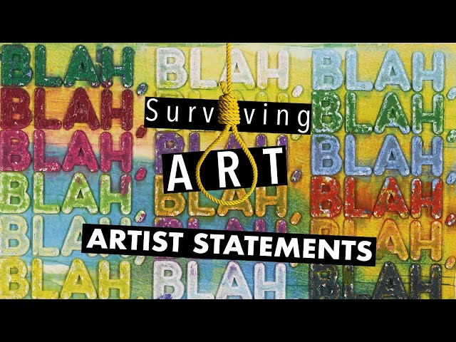 Writing a great artist statement