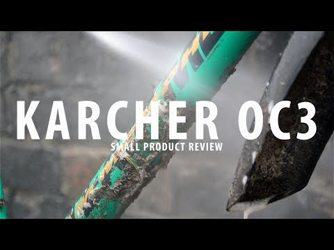 Karcher OC3 - The amazing portable pressure washer - Product review