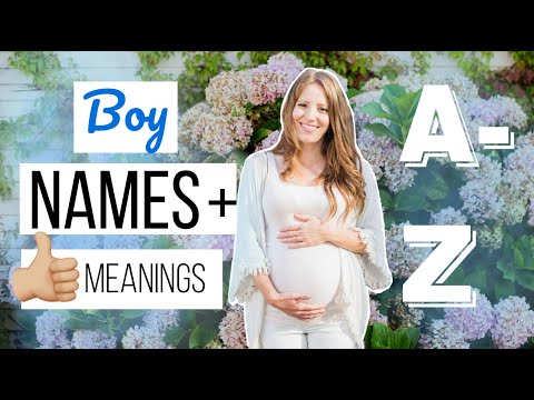 26 Baby Boy Names I Love From A To Z