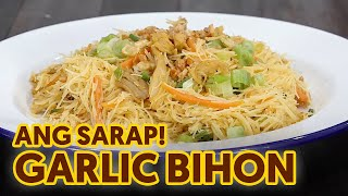How to Cook Garlic Bihon